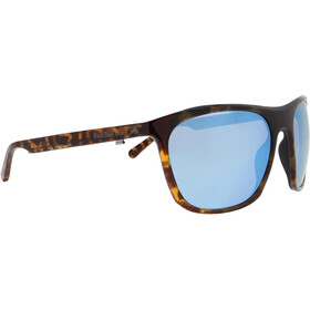 Red Bull SPECT Rocket Sunglasses Men, shiny havanna/smoke-ice blue mirror